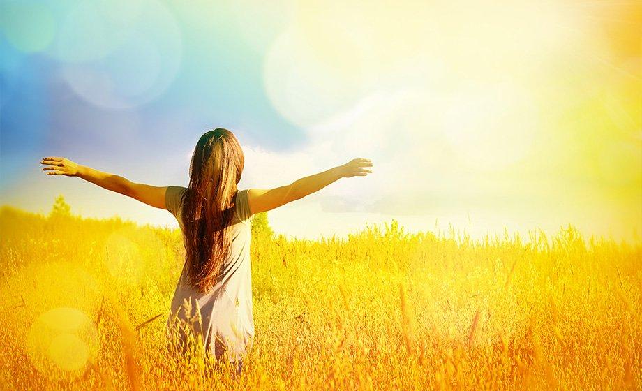 Gratitude soleil Amour